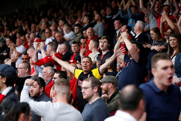 League One Play Off Semi Final First Leg - Scunthorpe United v Rotherham United