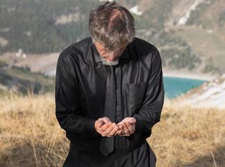 Ramadan, a prayer in the mountains