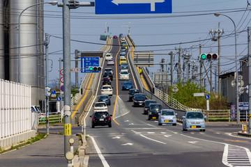 ベタ踏み坂こと江島大橋