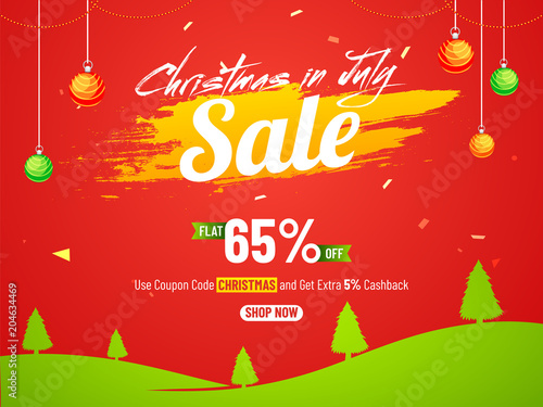 Christmas In July Royalty Free Images.Christmas In July Fest With 65 Sale Offers On Red And Green