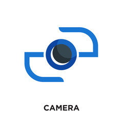 camera logo hd isolated on white background , colorful vector icon, brand sign & symbol for your business
