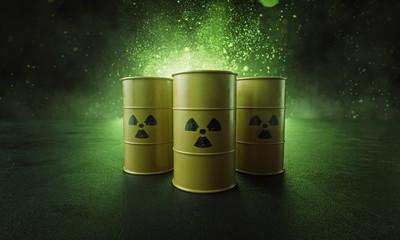 Atommüll in Fässern