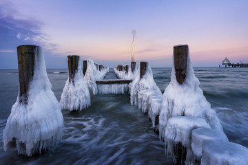 Zingst im Winter