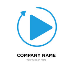 photo coming soon company logo design template, colorful vector icon for your business, brand sign and symbol