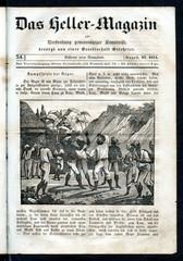 African war games (from Das Heller-Magazin, August 23, 1834)