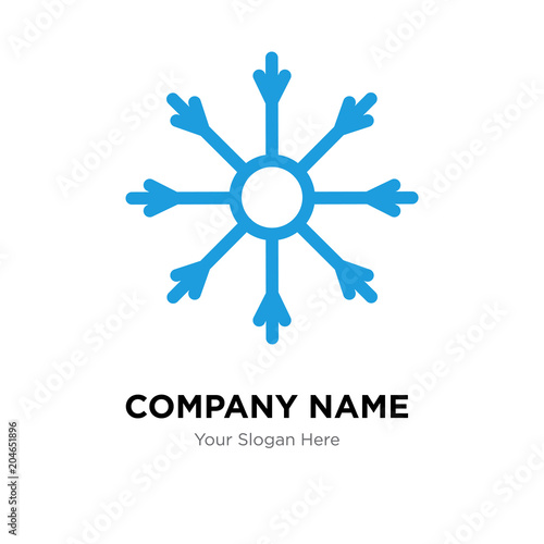 Salt Company Logo Design Template Colorful Vector Icon For Your