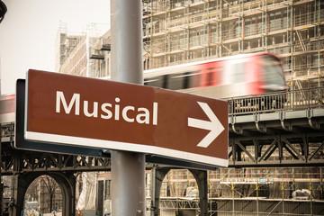 Schild 302 - Musical