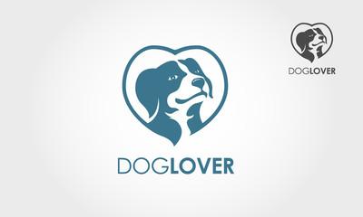 Playful logo that best for dog shop, dog lover community, animal shelter, dog kennel.