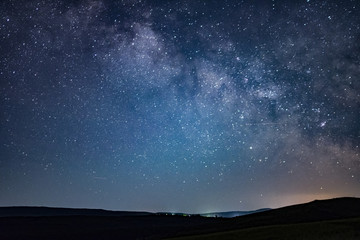 Beautiful night sky milky way photographs