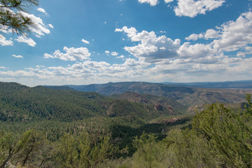 Gila wilderness and cliff dwelling