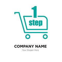 one stop shop company logo design template, colorful vector icon for your business, brand sign and symbol