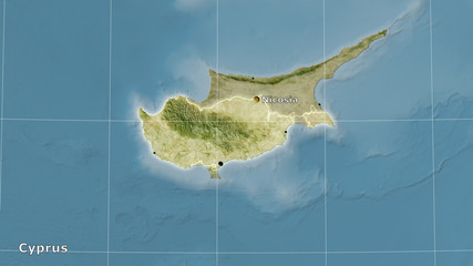 Cyprus, satellite B - composition