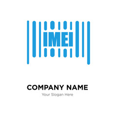 imei company logo design template, colorful vector icon for your business, brand sign and symbol