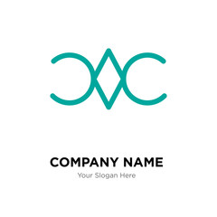 Still company logo design template, colorful vector icon for your business, brand sign and symbol