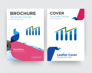 free stock brochure flyer design template