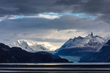 Ice field of the Grey Glacier