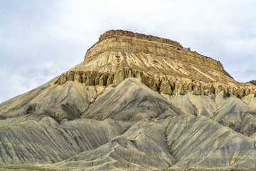 Mount Garfield, dramatic mountain landmark
