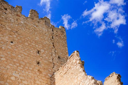 Oreja castle in Castilla la Mancha near Aranjuez  Madrid city Spain. Oreja is an abandoned village in spain. With his beautiful castle it is a good travel from Aranjuez the nearly city.