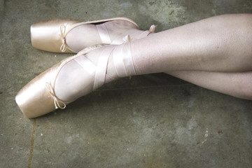 Ballet Dancer's Legs and Feet
