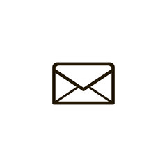 envelope icon. sign design