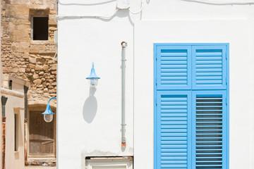 Gallipoli, Apulia - Old versus new in the historical streets of Gallipoli