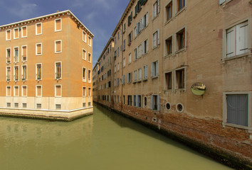 Wohnviertel in Venedig