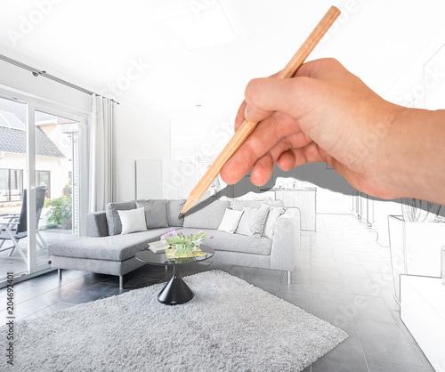 Modernes Wohnzimmer Planen
