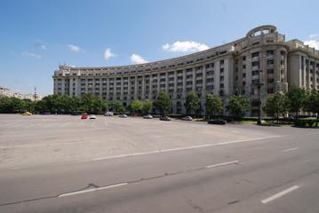 Palace of the Parliament; sky; landmark; building; city