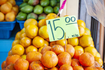 Citrus in a Market