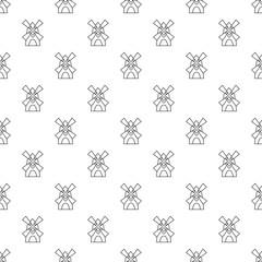 Windmill pattern vector seamless