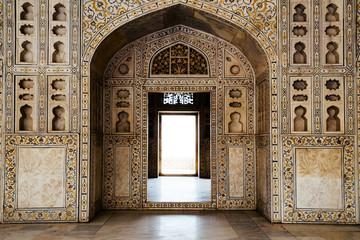 Foto auf Leinwand Befestigung Agra Fort in Agra, India