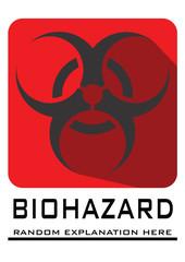 Red Sign Biohazard