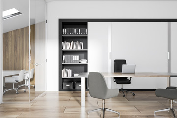 Manager s office interior business concept