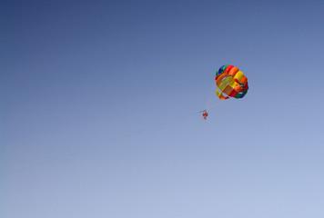 Parachute sailing