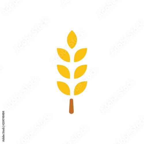 Gluten free icon, Gluten free symbol - healthy and organic symbol
