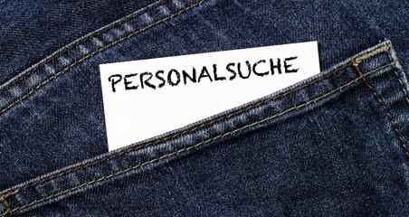 Personalsuche