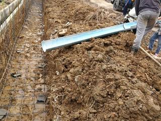 Continuous concrete casting