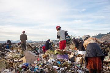 scrapers dumps Madagascar