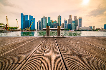 At the Heart of Singapoer... Panoramic View of City