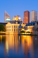 city center of Den Haag, Netherlands