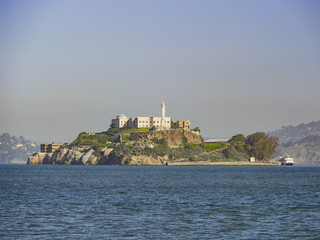 The famous and beautiful Alcatraz Island