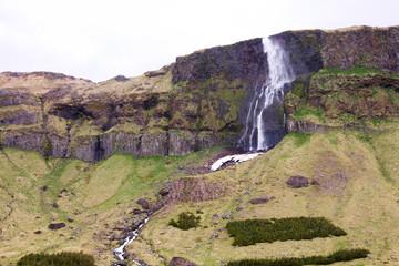 Waterfall Blown Away, Iceland