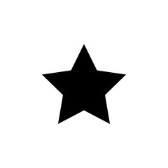 five-pointed star icon. Element of military for mobile concept and web apps. Detailed five-pointed star icon can be used for web and mobile. Premium icon