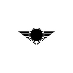 star of a military pilot icon. Element of military for mobile concept and web apps. Detailed star of a military pilot icon can be used for web and mobile. Premium icon