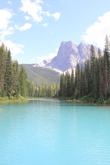 Poster Centraal-Amerika Landen Canada Mountain Landscapes Alpine Lakes Waterfalls Mountains