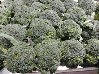 Broccoli vegetables for health.
