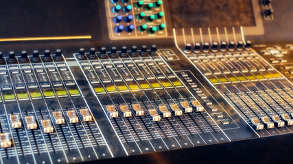 Sound system control for music entertainment