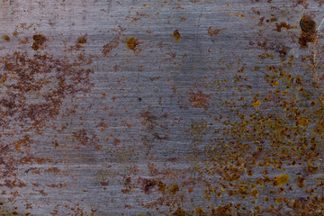 Old dirty metal surface for background