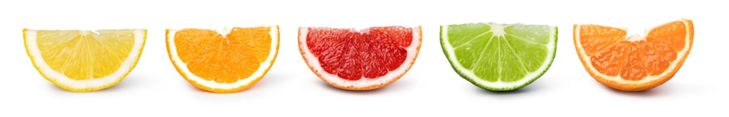 citrus fruit set Fototapete