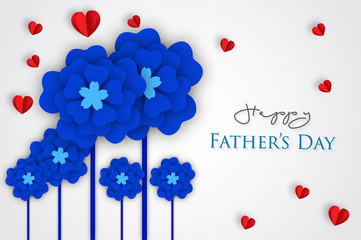 Happy fathers day letters emblem and related icons image vector illustration design.